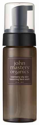 John Masters bearberry oily skin balancing face wash   熊果素淨脂平衡洗顏露