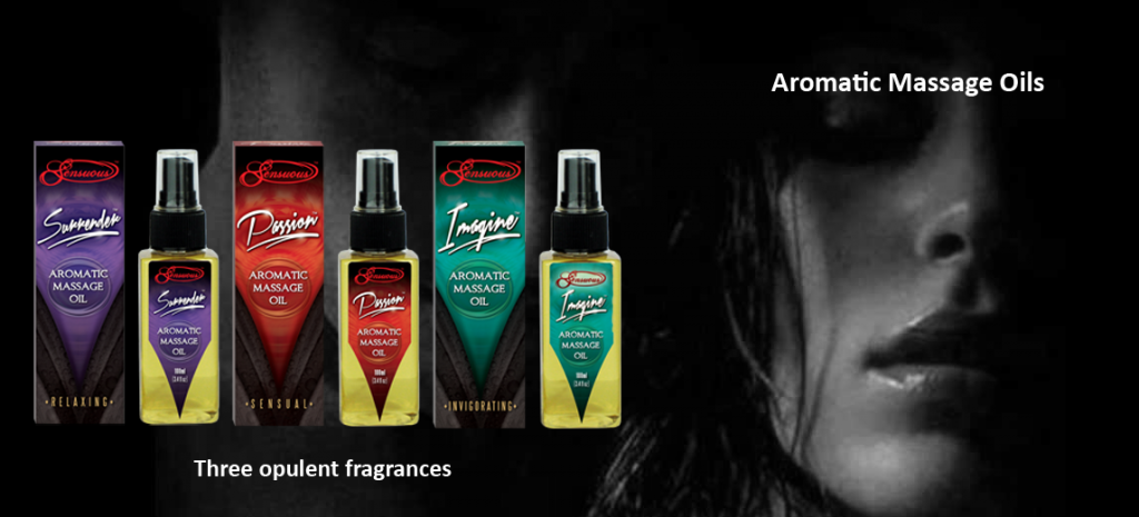 Sensuous Amomatic Massage oil