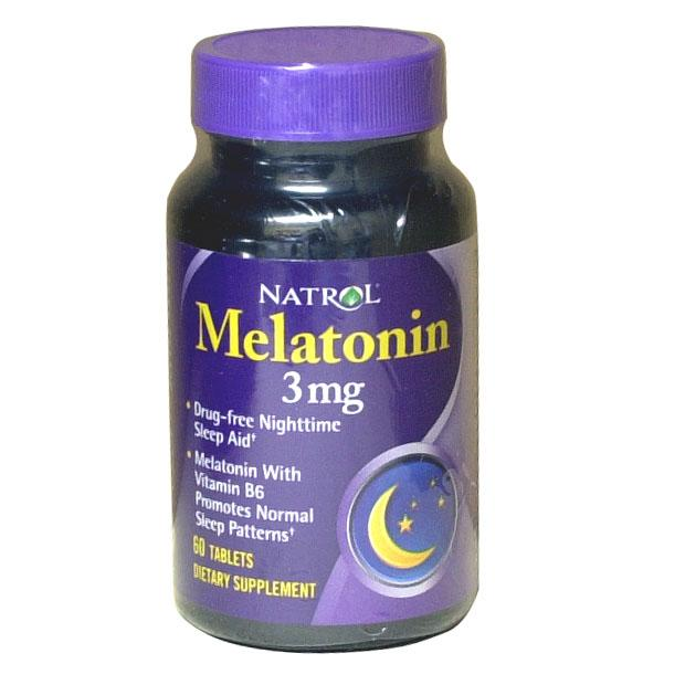 退黑激素Melatonin3mg